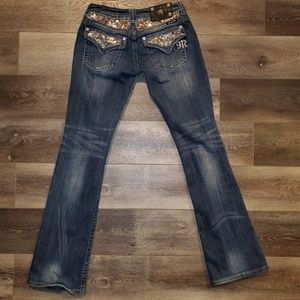 Miss me bootcut bling Jean's